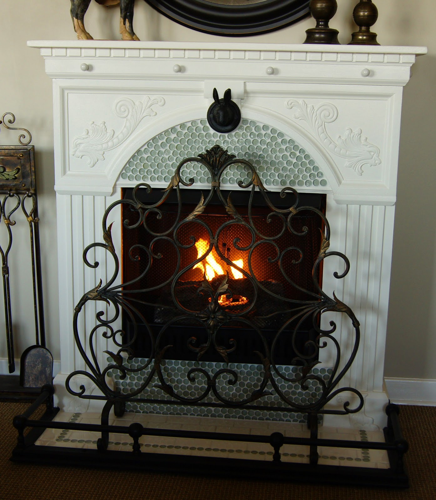 A french country fireplace so you think you re crafty for French country fireplace