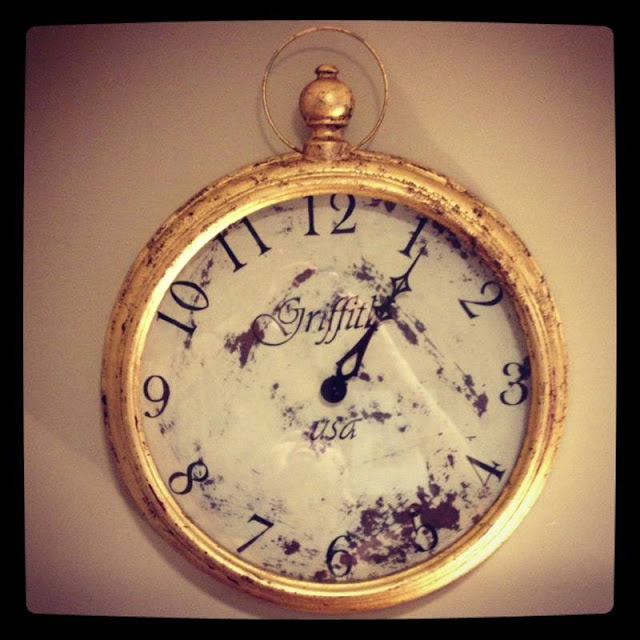 Pocket Watch Wall Clock Tutorial Tuesday Cathgrace